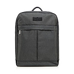 Jeff Banks - Grey laptop backpack