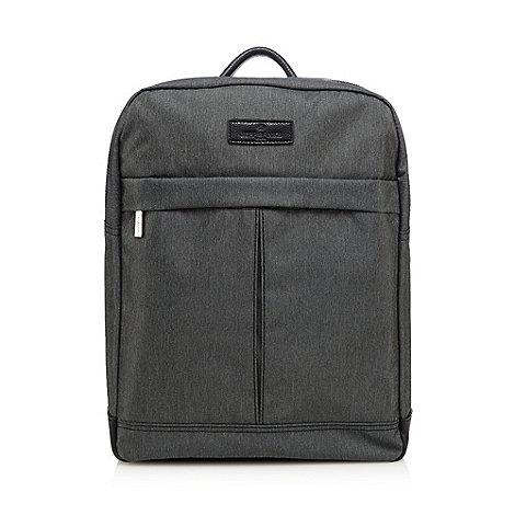 Jeff Banks - Grey laptop backpack