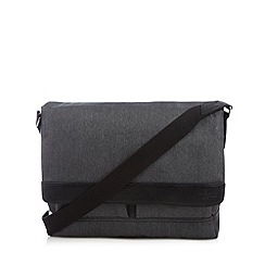 Jeff Banks - Designer grey laptop compartment despatch bag