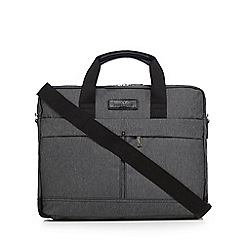 Jeff Banks - Grey laptop messenger bag