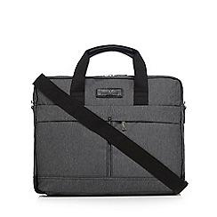 Jeff Banks - Grey laptop messenger bag