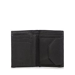 J by Jasper Conran - Designer black leather billfold wallet