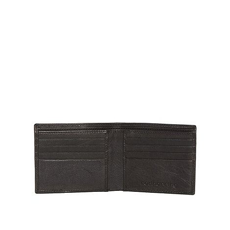 Red Herring - Black debossed wallet