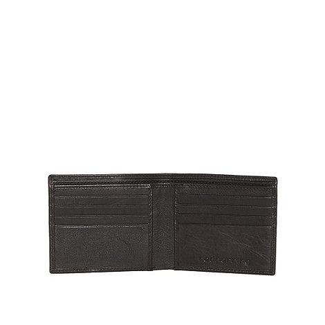 Red Herring - Black debossed wallet