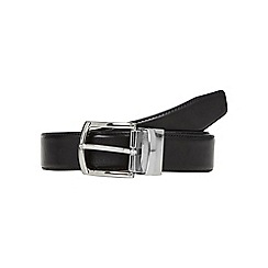 Hammond & Co. by Patrick Grant - Designer black leather reversible belt