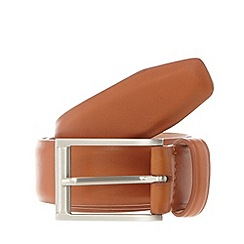 J by Jasper Conran - Designer tan nubuck lined belt
