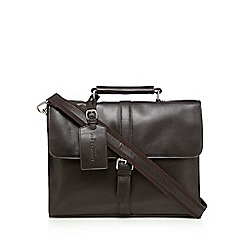 Hammond & Co. by Patrick Grant - Designer dark brown leather satchel