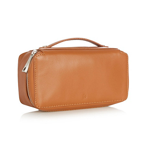 Hammond & Co. by Patrick Grant - Tan leather wash bag