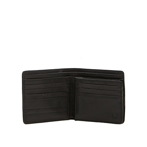 Hidesign - Chocolate leather lined wallet