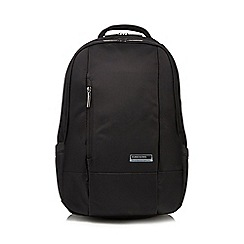 Kingsons - Black 'Elite' laptop backpack