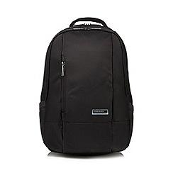 Kingsons - Black 'Elite' laptop backpack