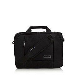Kingsons - Black 'Elite' laptop shoulder bag