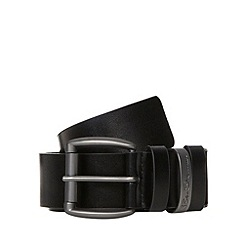 Ben Sherman - Black cut to fit leather belt