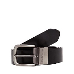 Ben Sherman - Black reversible belt