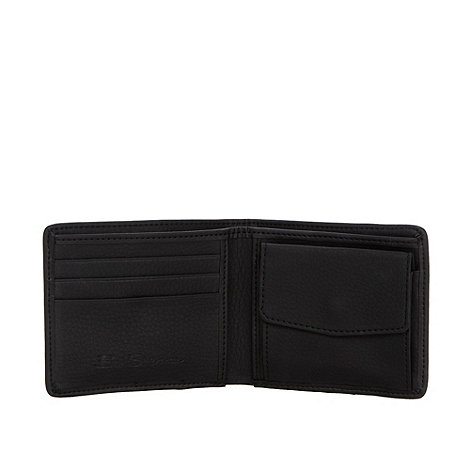 Ben Sherman - Black PU trim billfold wallet