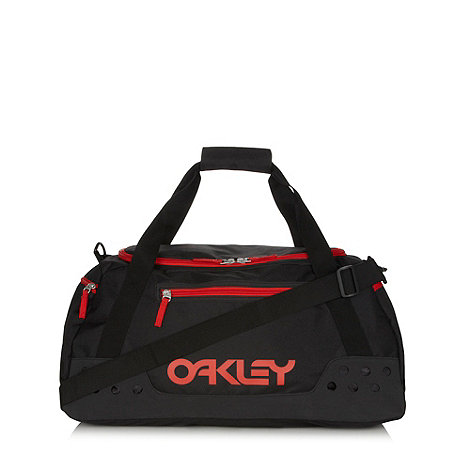 Oakley - Black canvas duffle overnight bag