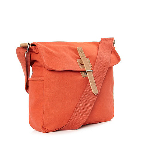 J by Jasper Conran - Designer orange canvas utility bag