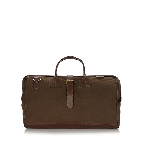 RJR.John Rocha - Designer khaki canvas bag