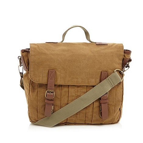 RJR.John Rocha - Designer natural heavy wash satchel