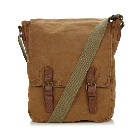 RJR.John Rocha - Designer natural heavy wash utility bag