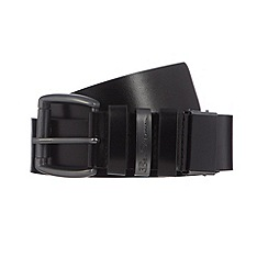 Ben Sherman - Black leather 'cut to size' belt