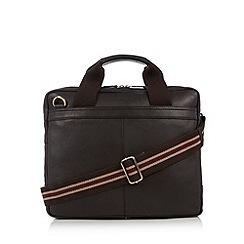 RJR.John Rocha - Designer brown leather work bag