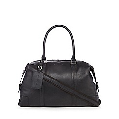 Hammond & Co. by Patrick Grant - Designer black grained leather holdall