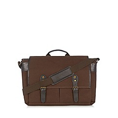 RJR.John Rocha - Designer khaki twill despatch bag