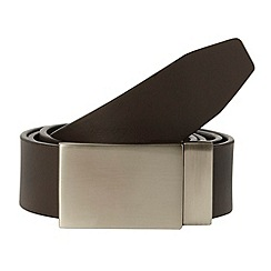 Thomas Nash - Black reversible plate belt