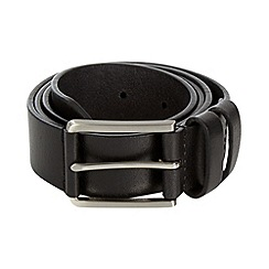 Maine New England - Maine black leather chino belt