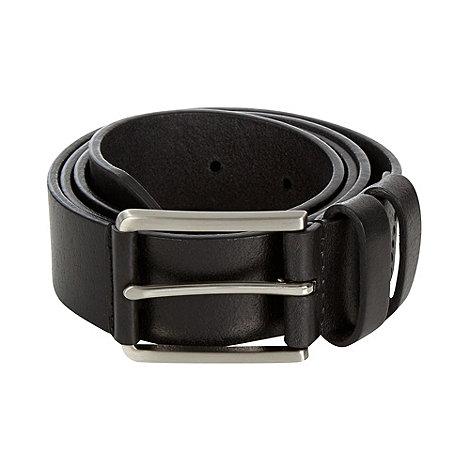 Maine New England - Maine black leather chino belt