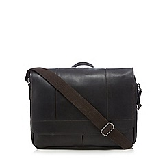 RJR.John Rocha - Designer brown leather despatch bag