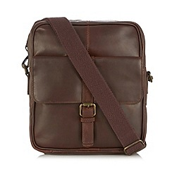 RJR.John Rocha - Designer brown 'Brooklyn' single buckle bag