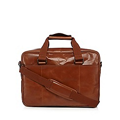 RJR.John Rocha - Designer tan leather business bag