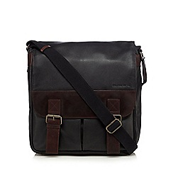 RJR.John Rocha - Designer black two colour utility bag