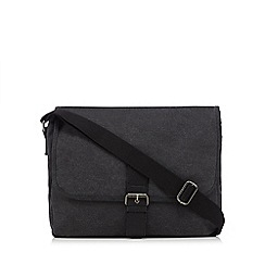 Red Herring - Grey PU despatch bag