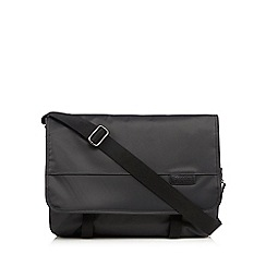 Jeff Banks - Designer grey despatch laptop bag