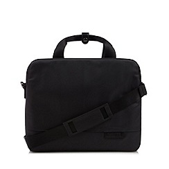 Jeff Banks - Designer grey two handle laptop bag