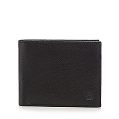 Jeff Banks - Black leather billfold wallet in a gift box