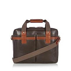 Hidesign - Grey leather work bag