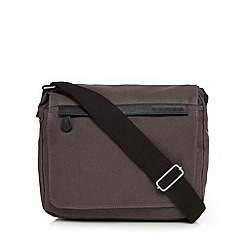 RJR.John Rocha - Designer grey canvas utility bag
