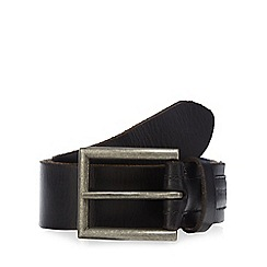RJR.John Rocha - Designer black leather embossed belt