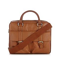 RJR.John Rocha - Designer brown leather two handle bag