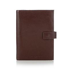 J by Jasper Conran - Designer tan leather organiser