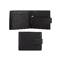 Hammond & Co. by Patrick Grant - Black grained leather wallet in a gift box