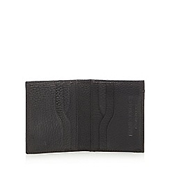Hammond & Co. by Patrick Grant - Black leather grained credit card holder in a gift box