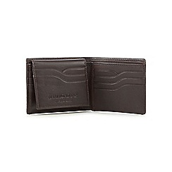 Hammond & Co. by Patrick Grant - Brown leather wallet with pass case in a gift box