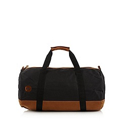 Mi-Pac - Black canvas holdall bag