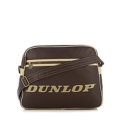 Dunlop - Brown branded despatch bag