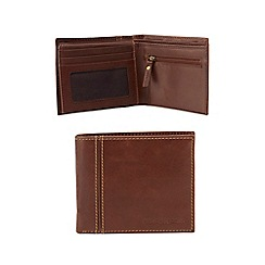 RJR.John Rocha - Designer brown leather wallet